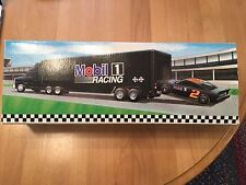 1994 Mobil Toy Race Car Carrier Second in Series Mint in Box Unopened MIB