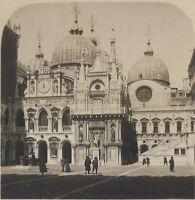 Venezia Chiamato Palais Italia Stereo Vintage Analogica Ca 1920