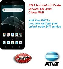 AT&T Fast Unlock Code Service  ALL Axia