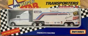1994 Matchbox Transporters Series II Limited Edition FRENCH'S RACING NIB