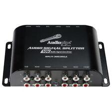 Audiopipe Split-3003Rca Audiopipe Multi-Audio Amplifier 3 Rca outputs w/bulit.