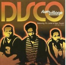 Slum Village Disco PROMO Music CD Ms. Jade & Raje Shwari 4trk Remixes w/ Artwork