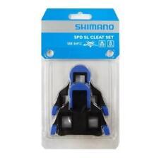 pedali, tacchette, spd-sl sm-sh12, colore blu, 2 gradi di movimento, viti inclus
