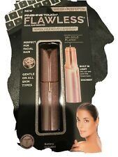 FINISHING Touch Flawless Facial Hair Remover Pink Glitter NEW Limited Edition