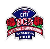 BCS Citi National Championship Game Texas Longhorns and Alabama 2010 Patch