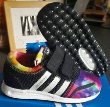 fbccdf7fb33a4 Adidas Originaux Los Angeles Cf1 Bébés petits Enfants Noir Multicolore  Baskets 25