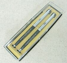 Vintage 1970 Pape Mate Double Heart Pen Set Adv Chaska Napa Auto Parts Minnesota