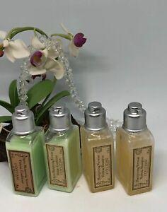 4x L'Occitane Verbena Travel Size Toiletries - Shampoo ~ Conditioner - 1 oz