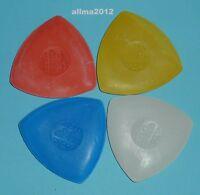 10 Stück Schneiderkreide (0,62€/Einheit) Farbe: weiß,rot,blau und gelb