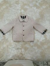 Burberry Baby Pink Lightweight Quilted Jacket 18 Months