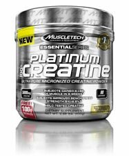 MuscleTech Essential Series Platinum Micronized Creatine Powder, 14.1oz - 80 Servings