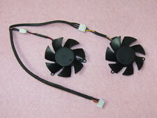 45mm MSI R6450 R6570 R6670 N610GT V5 Dual Fan Replacement 39mm 4Pin 3Wire R173ab