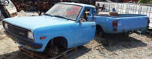 Datsun B110 Sedan Coupe UTE P/U front bumper painted used