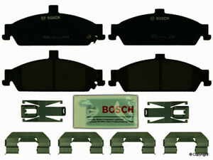 Disc Brake Pad Set-Bosch QuietCast Front WD Express 520 07270 462