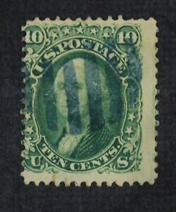 CKStamps: US Stamps Collection Scott#68 10c Washington Used