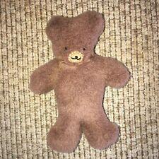 "TEDDY BEAR Chocolate Brown Plush Gingerbread 5"""