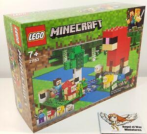 LEGO NEW 21153 The Wool Farm Minecraft (2019)