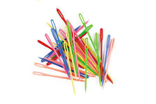 Plastic Darning Threading Weaving Sewing Needles (12pk) Great for Kids