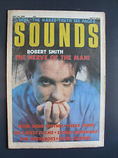 SOUNDS MAY 24 86 CURE JUDAS PRIEST INXS THREE JOHNS PETER GABRIEL BLOOD ON THE S