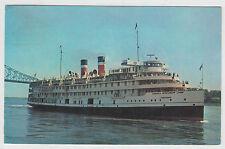 Bateau de Croisiere du Saguenay Cruise Ship Postcard