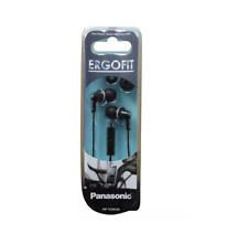 Original Panasonic Ergo Fit In-Ear Earbuds Headphones with Mic / Controller