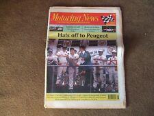 Motoring News 24 June 1992 Donegal Rally GTCC Le Mans 24 Hours Croft Rallycross
