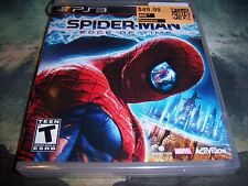 Spider-Man: Edge of Time ps3 (Sony PlayStation 3, 2011) New/Sealed
