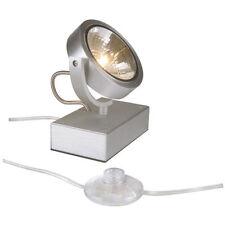 Lámparas de interior hasta 20cm de color principal plata