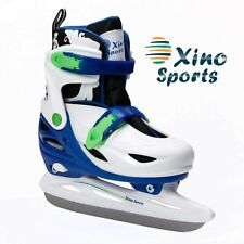 Premium Adjustable Ice Skates for Boys and Girls, Two Aweso Medium Big Kid (1-4)
