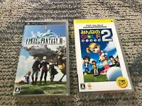 Final fantasy 3,minna no golf Everybody's golf 2 psp game 2 set japan