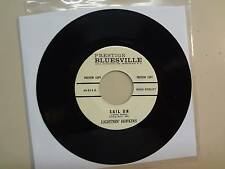 """LIGHTNIN' HOPKINS:Sail On-Death Bells-U.S. 7"""" 1961 Prestige Bluesville 45-814 DJ"""