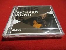 """COFFRET 2 CD NEUF """"THIS IS RICHARD BONA - ANTHOLOGY"""" best of"""