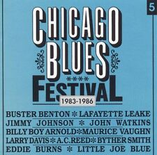 Various Artists - Chicago Blues Festival Vol.5 1983-1986 - Black & Blue New CD
