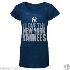 New York Yankees I Love The New York Yankees Girls Shirt Large (14) NWT (G)