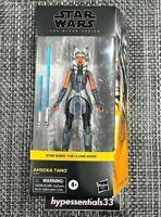 Star Wars Black Series The Clone Wars AHSOKA TANO Walmart Exclusive NEW. IN HAND