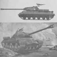1:35 Tank Model Kit Russian JS-3M Scale Plastic Heavy Military Armor 00316  UK
