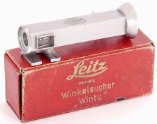 !! rara!!! Leitz Wintu Visor de Ángulo Buscador de ángulo derecho para cámaras Leica 35mm