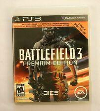 Battlefield 3 Premium Edition Sony PlayStation 3, 2012 Video Game