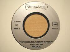 """Nicola Alziari Rare orig French 7"""" Occitan Acid Folk Psych jan dau melhau"""