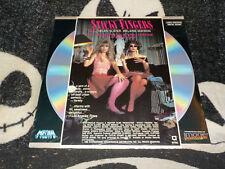 Sticky Fingers NEW SEALED Laserdisc LD Helen Slater Melanie Mayron Free Shipping