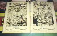 Topps Gypsy Queen Mike Trout and Derek Jeter Base Card Lot All Stars HOF
