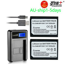 2XBP-1030 BP1130 BP1030B Battery+ USB Charger for Samsung NX-1000 NX1000 AU-ship