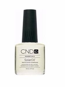 CND Solar Oil Nail & Cuticle Conditioner 7.3ml POCKET TRAVEL SIZE PERFECT GIFT