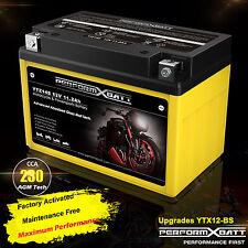 AGM Battery YTZ14S YTX12-BS ATV UTV Quad Arctic Cat DVX 250 300 Utility 12V 10Ah