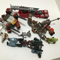 Lot of 8 Transformers Toys (Might Be Incomplete)