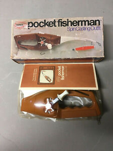 Vintage Popeil's Pocket Fisherman Spin Casting Outfit With Original Box