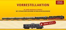 Brawa B 1802 H0 Train Set DB DC Rheingold-Express