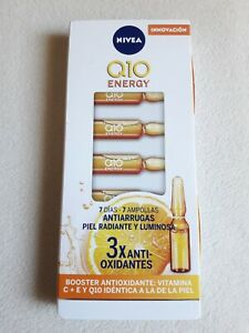 NEW NIVEA Q10 ENERGY GLOW BOOSTING FACE AMPOULE SERUM    ** FREE SHIPPING**