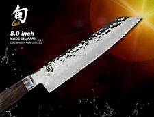 Shun Premier Kiritsuke Chef's Knife 205mm Damascus Cutlery KAI Flatware Slicer