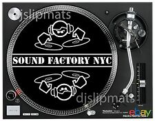 """Par (2) Fábrica de sonido NYC 12"""" o 7"""" Pro Dj Slipmats Vásquez nudillos Vega House"""